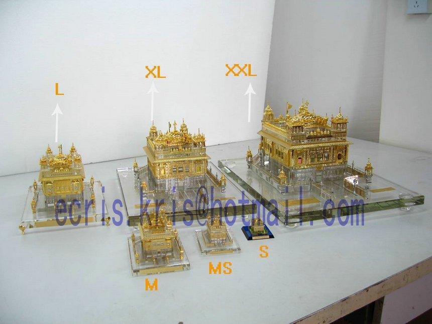 Golden Temple Image Golden Temple India Figurine