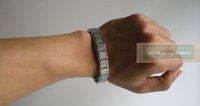 Ювелирное изделие 3pcs/lot! GaGa Deal&Hot sell! &Amazing energy! 80 Germanium stone! Titanium bracelet S028B-G