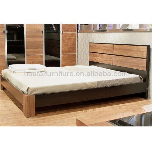 2013 hot vente lit en bois htel meubles en bois massif jambes lit double meubles de - Lit Double En Bois Massif