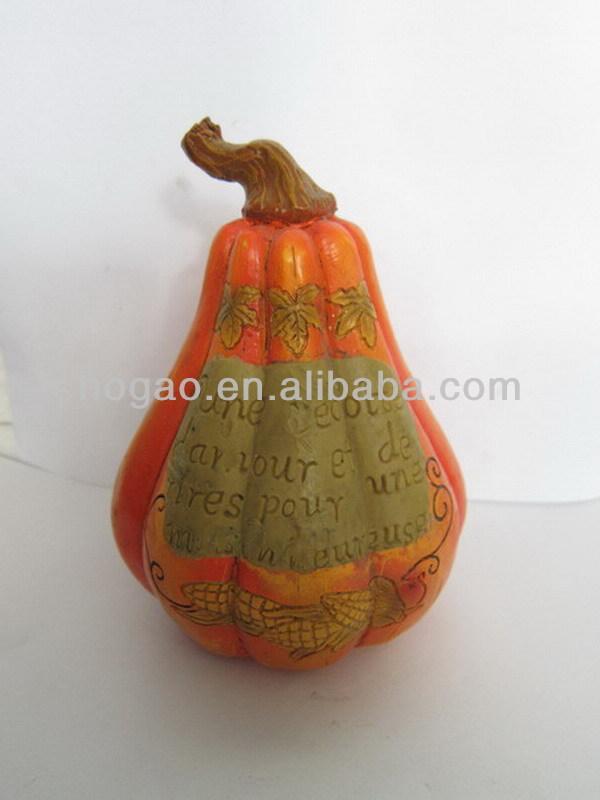 halloween craft resin pumpkin