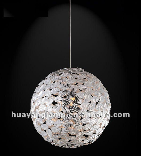 2013 modern aluminum silver pendant light