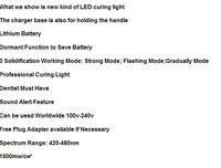 Холодильники и морозильные камеры CE New Wireless Cordless Curing Light Lamp