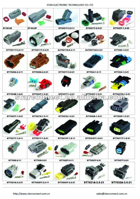 fci automotive connector, View fci automotive connectors, star Product ...