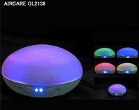 Увлажнитель воздуха 2012 NEW Color-changing Ultrasonic Air Humidifier and Aroma Diffuser Lamp Air purifier Air ioniser