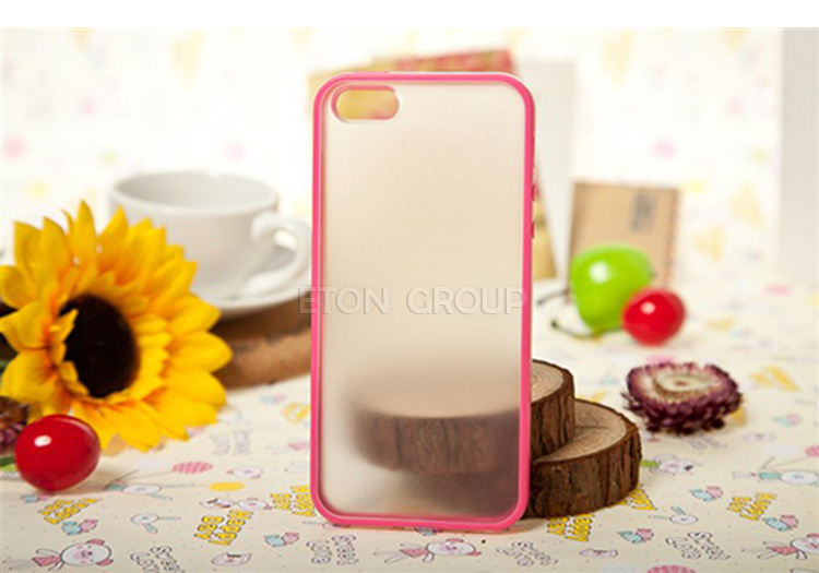 High quality new trendy plastic pc tpu case quality oem case for iphone 5 case