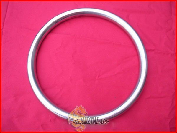 Free Shipping 10 pcs / lot Smooth Durable Wing Chun / Martial Art  Stainless Steel Rattan Ring (FE009) !!