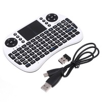 Компьютерная клавиатура 2.4G Rii Mini i8 Wireless Keyboard with Touchpad for PC Pad Google Andriod TV Box Xbox360 PS3 HTPC/IPTV