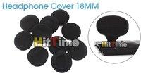 25 Pairs Ear Pad Foam Earbud Cover Headphone 18MM Black [3348 01 01]