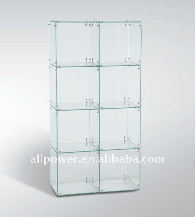 magic cube de verre et verre vitrine pr sentoire id de produit 716273320. Black Bedroom Furniture Sets. Home Design Ideas