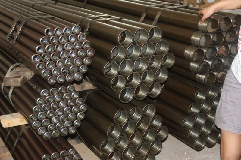 drill rod and casing