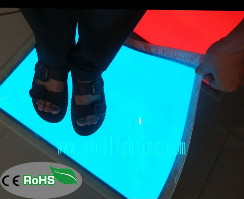 EL Backlight sheet,We can walk on the Sheet,So Cool