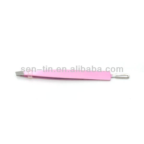 Pink high quality eyebrow tweezer