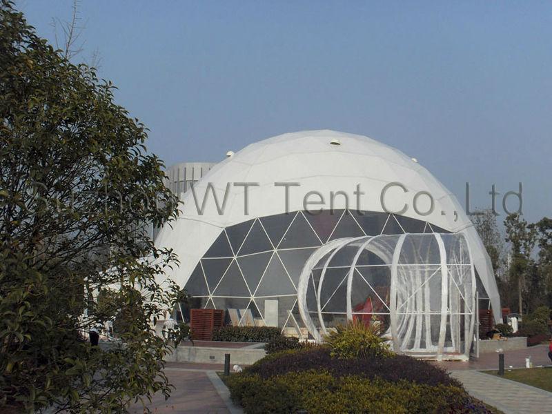 geo-dome tent