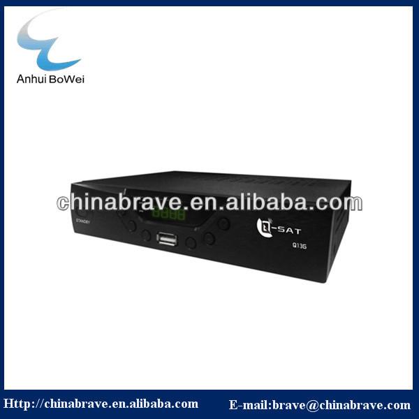 2014 latest design Q-SAT Q13G decoder/receiver for African market