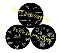 Шаблоны для дизайна ногтей s , plate.140 designs.nail nail art templates-G02