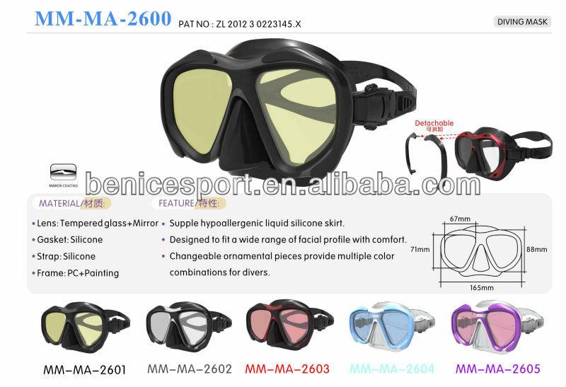 Diving Equipment Professional,Cheap Scuba Diving Mask