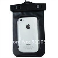 Чехол для для мобильных телефонов 10 PCS Black Water Proof Pouch Case Bag For Apple iPhone 3, 3GS, 4, 4G, 4S