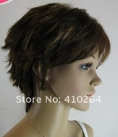 $wholesale_jewelry_wig$ free shipping Stylish Short human made hair healthy women's wig/wigs #705
