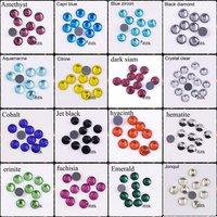 F605407  DMC Hotfix Crystals Rhinestone  SS20 siam AB 10 Gross/bag CPAM Free Brides stones Garment accessories,Wholesale