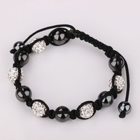 SB1145 Shambala Charm Disco Ball Bead Bracelet New T-Paris Shambhala Rhinestone Crystal Fashion Jewelry Shamballa