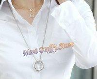 2013 Ladies Fashion elegant Blouse Womens long sleeve formal Blouse,Lady OL White Shirt career apparel