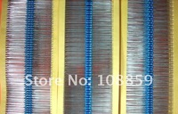 Резистор XY 1/4W 1% 1R /1m 1000pcsFor DIY 1/4 Metal film resistor packs-50Value