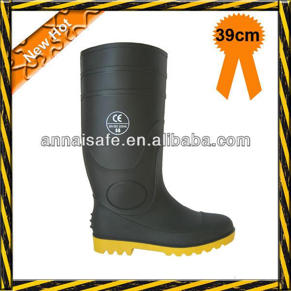 BRS oil resistant pvc safety rain boots