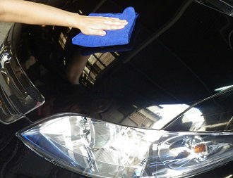 Hydrophobic coating for car , best-selling car care products in Japan , Ultra Pika Pika Rain