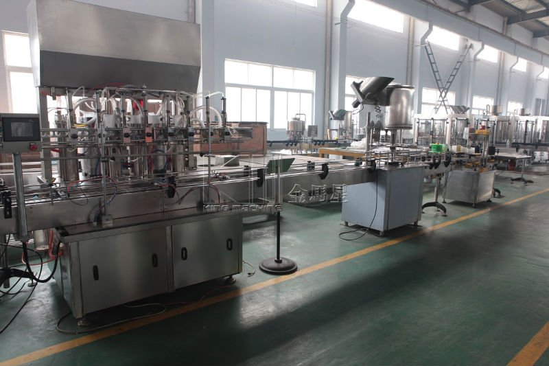Automatic edible oil / sunflower oil bottling line