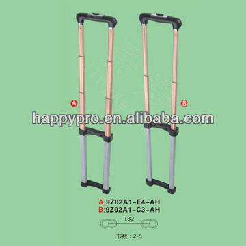 Luggage Extending Handle Metal Luggage Parts Handle