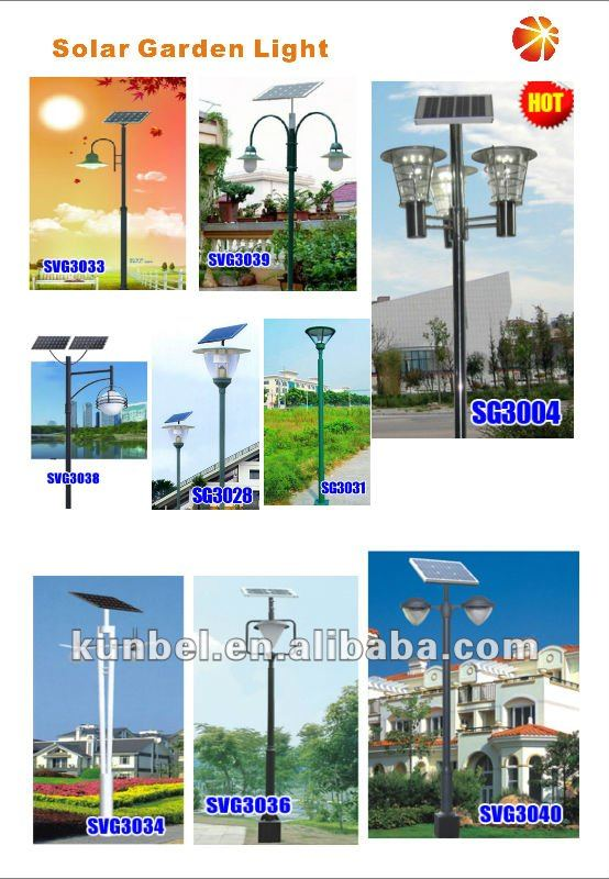 New Design Solar Garden Light & Solar Lights for Garden