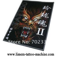 1pcs Flash China manuscripts Sketch Ling Long Soul  Convenience Tattoo Book Art free shipping