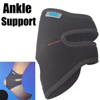 New Adjustable Sport Band Elastic Ankle Knee Wrap Brace Support Protector #6854