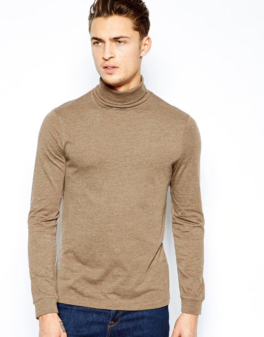 High Neckline Shirts High Neck t Shirt For Men,long