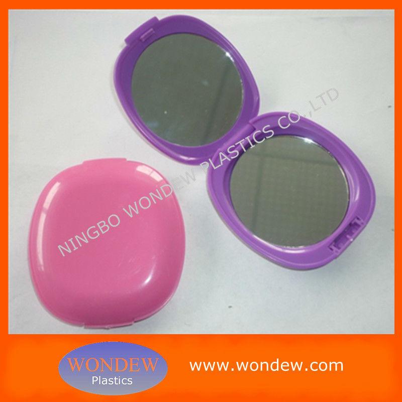 En plastique cosm tiques miroir compact pour promotion for Miroir en plastique