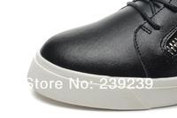 Новые черные овчины gz Серебряная цепь мужчин, женщин 36-46, gz случайных женщин обувь