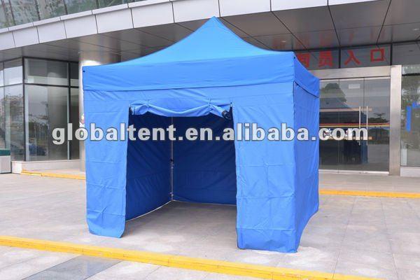 3x3m Gazebo Tent with Zipper Walls and Zipper Door