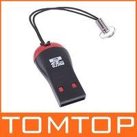 Кардридер USB 2.0 Micro SD T-Flash TF Card Reader