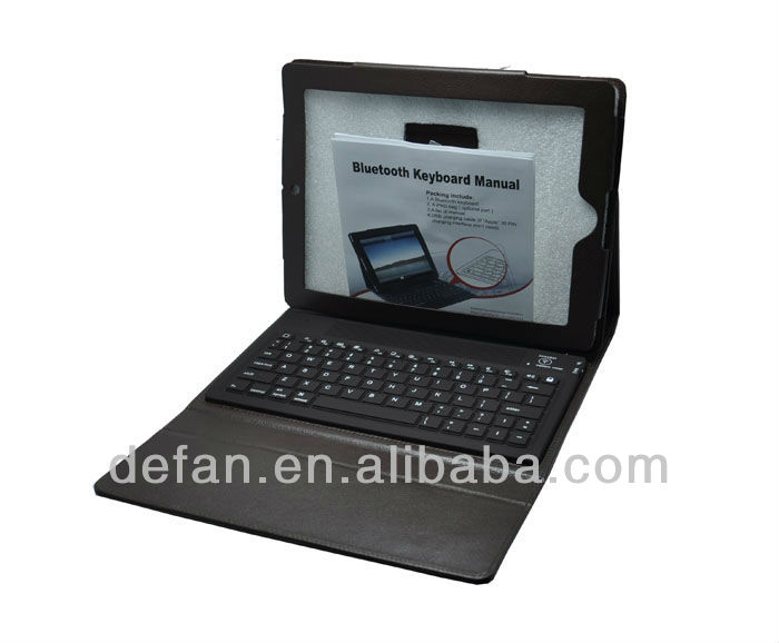 Bluetooth Wireless Keyboard Case Cover Stand With Stylus For iPad 2nd 3rd 4th