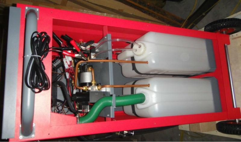 trans flush machine