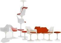 modern classical design tulip arm chair