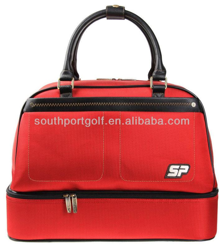High quality portable golf bag golf boston bag factory SBS3705