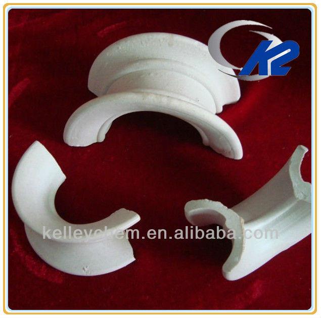KELLEY Ceramic Intalox Saddle Tower Packing