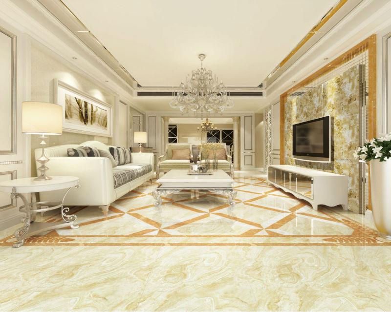 poliert glasierte marmorboden fliesen fr wohnzimmer - Marmorboden Wohnzimmer