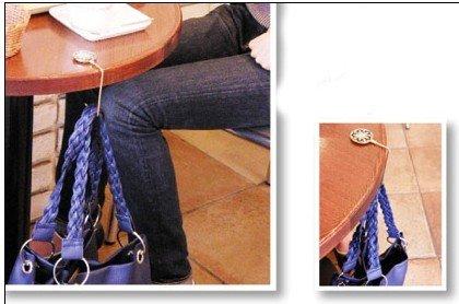 lock metal purse holder