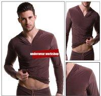 Мужская пижама men's bathrobe /brand home wear /nice and cool fashion wear/can be mixed /brown