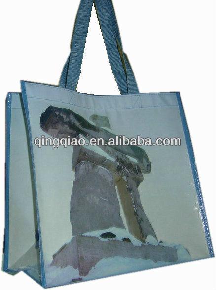 printed pp shopping bag