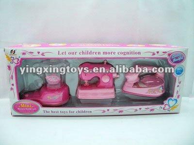 Plastica mini lavatrice giocattolo con la luce, caramella del ...