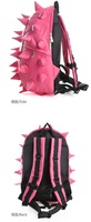 Рюкзак fashion Black Pink Hedgehog PU leather cartoon Travel backpack satchel school casual leisure sport bag