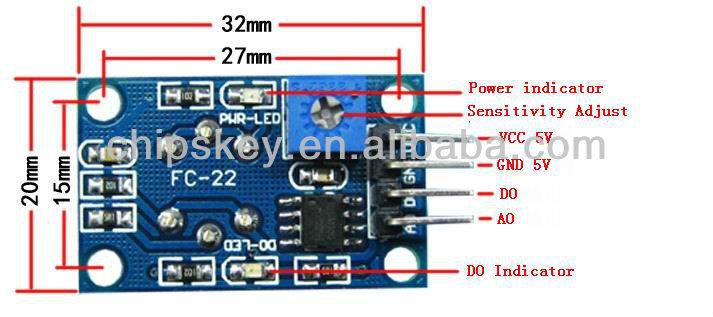 MQ gas and air quality sensors - OLinuXino Arduino
